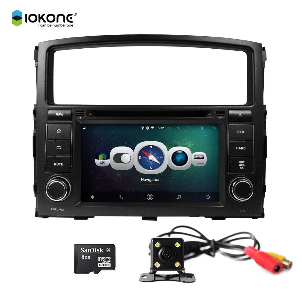 Made in China Android 4.4 GPS Car DVD Player for MITSUBISHI PAJERO 2006-2011 with Mirror Link Wifi