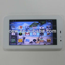 Fashion Design 6.5inch 8.5mm thick ultra slim 3G call MTK6572 dual core Android 4.2.2 tablet pc