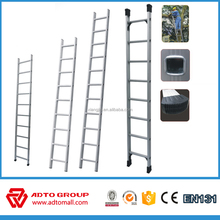 6m aluminum ladder, scaffolding ladder, construction ladder with OEM service