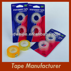 Stationery Tape Logo Plastic Core