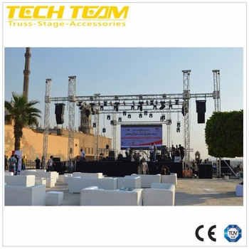 12 inch square / box aluminum truss with TUV certification