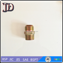 Male JIC 74 Degree to Male NPT Straight Hydraulic Hose Fittings Nipple/Adapter 1JT
