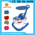 2017 New model plastic baby walker with canopy and music baby walker with light for sale baby walker with canopy
