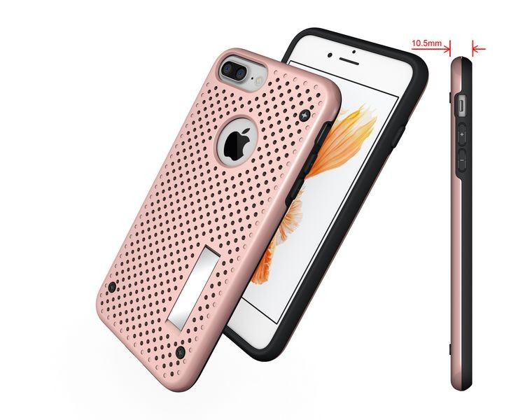 All moulds, OEM ODM Dissipate heat Slim Armour Net Case Popular Moblie Phone Case For iPhone 7 Plus 6 Plus