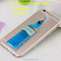 new products mobile phone cover for iphone 6 plus smart phone ultra-thin tpu back shell for apple 6+ case cooktail phones cases