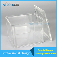 High Impact Small Acrylic Model/Toy Display Case/Holder/Container Box For Collection