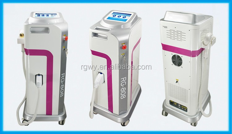 808nm Diode Laser Hair Removal Machine 600w With Multifunction Languages