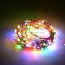 Hot Sale Customized LED Christmas Teardrop Christmas Lights 10m 100leds/string copper wire string light