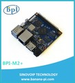 Hottest selling 2017 Banana pi m2+ 4-core H3 development board with wifi and bluetooth function