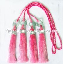 Decorative double Tassel for curtain & Double tassel in fade