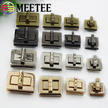 Luggage hardware accessories rectangular bag square lock bag hardware twist lock