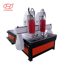 4 x 8 cnc carving machines two head engraver