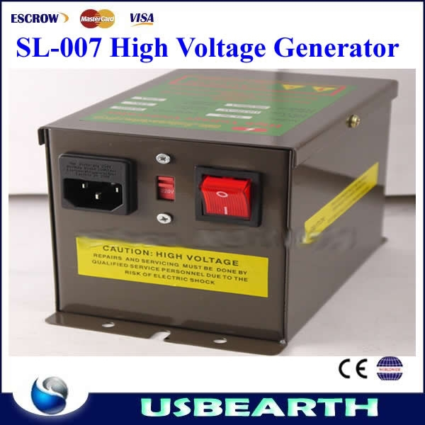 ESD SL-004 Ionizing Air Gun wiht SL-007 High Voltage Generator ,low cost dc high voltage generator