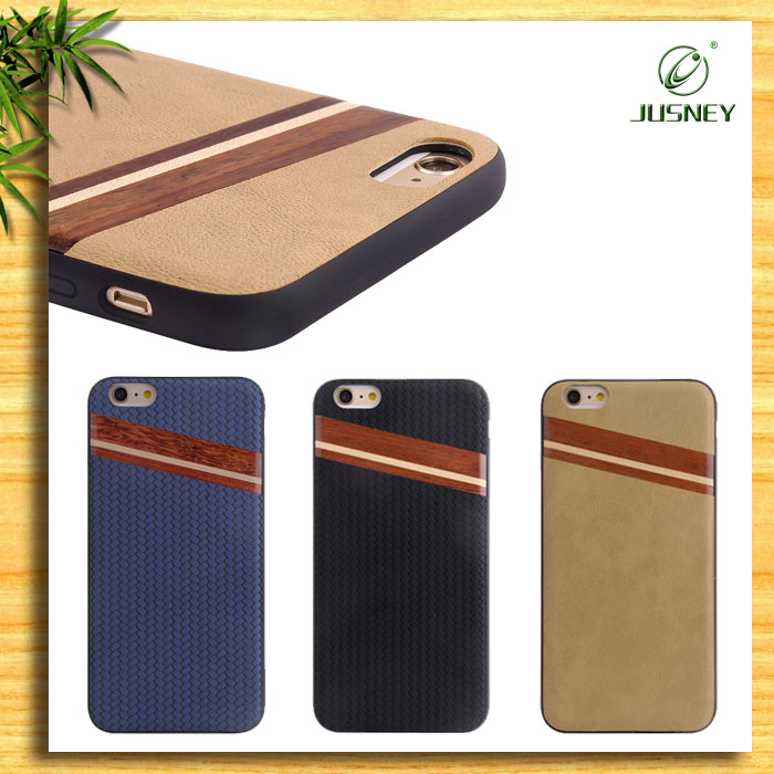 Wholesale Cell Phone Case/ For iPhone 6s Phone Wood Case