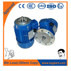 AC Single-phase Low RPM 230V Asynchronous Electric Motor 250 Watt From Cement Mixer