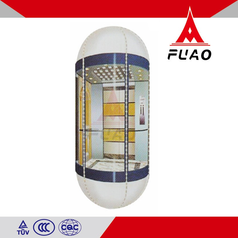 Framed Home Glass For elevator cabin china supplier