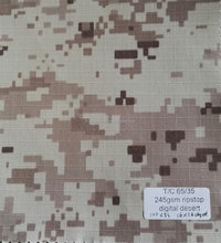 IM Pixeled Military Camouflage canvas ripstop fabric for military uniform