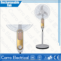 hot selling 16 inch or 18 inch rechargeable fan 12v battery operated exhaust fan