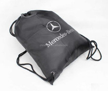 Easy carry Any logo printing polyester laundry bag
