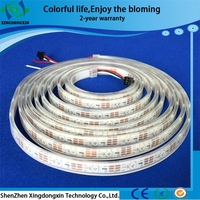 Magician of light! full color 5v smd 5050 rgb led strip ws2812b flexible led strip light