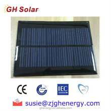 1w 5v epoxy solar panel for cell phone charger