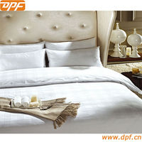 Hotel Jacquard Pattern bedspread cotton Fabric bed sheet for sale