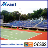 Anly outdoor anti-rust stadium seat,metal bleacher,outdoor tribune for sports,amusement,education