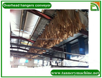 China leather overhead chain conveyor dryer oven