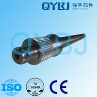 Excellent quality tractor parts with low price of jinan heavy truck autoparts rear drive shaft assembly/input axle AZ9231320261
