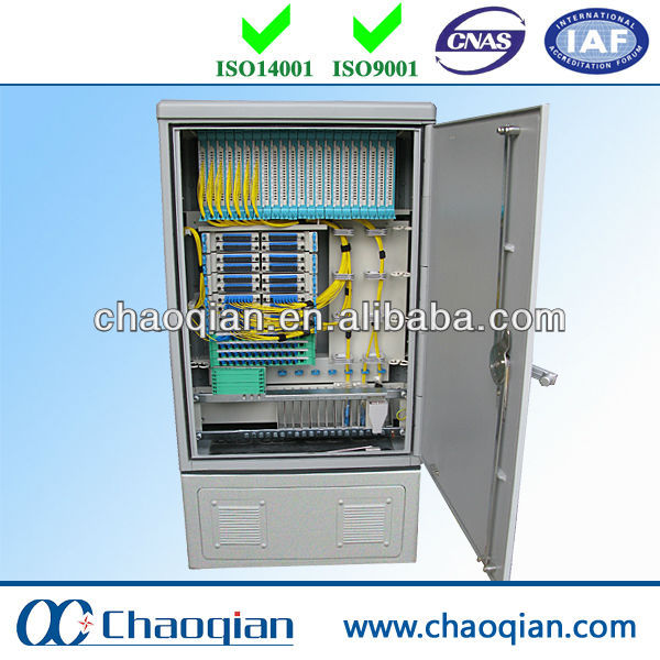 Stainless Outdoor Rain-proof Communication Equipment Optical Splice Cabinet