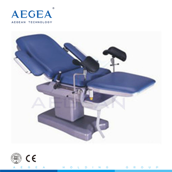 AG-C102 electric adjusted female gynecology hospital obstetric exam table for sale price