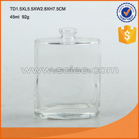 Custom Empty glass Perfume Bottle With Different Size&Color