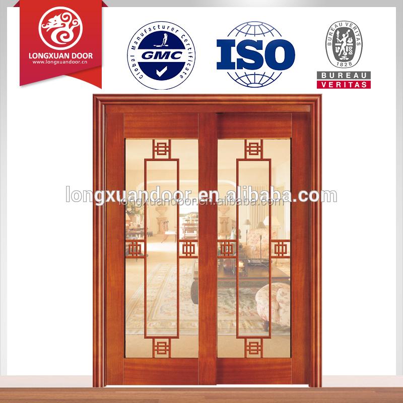 China supplier sliding main gate design fiberglass entry for Sliding door for main door
