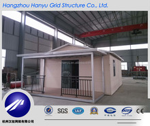 Comfortable Prefab Light Steel Villa For Temporary Residency