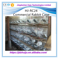 easy clean durable metal wire rabbit cages sale