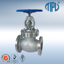 API Rising Stem Stainless Steel CF8 Steam Globe Valve