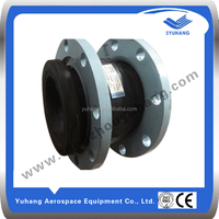rubber expansion joint flange pipe ends