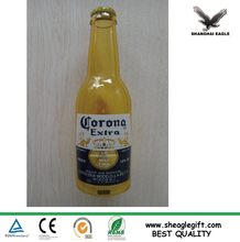 low price yellow customized kind bottle opener with logo printed