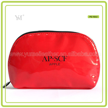 High Quality Travel Leather Pen Makeup Bag For Ladies