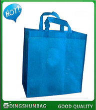 Promotion easy carrying cheap non woven fabric shopping tote bag