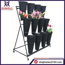 Hot Sale Fancy Beautiful Flower Display Stand,flower shop display, flower display shelf