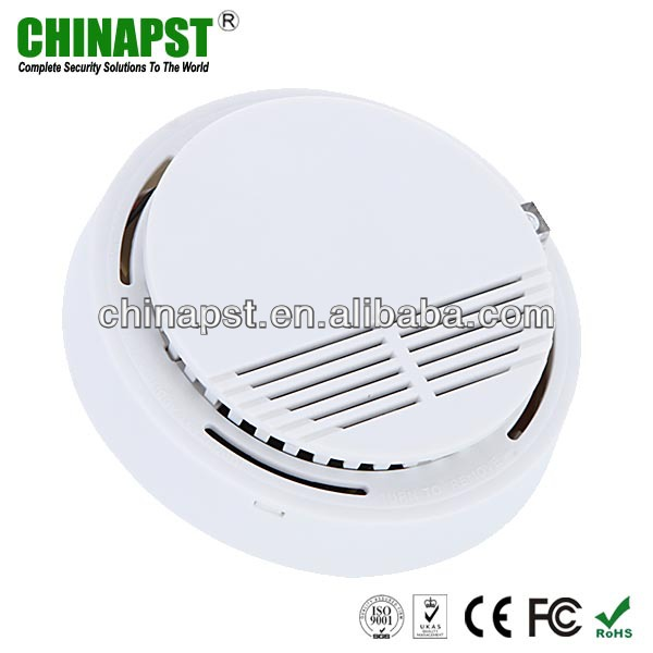 Best Price Portable Ionization Cigarette Wireless Alarm Smoke Sensor Detector for Indoor Security PST-SD202
