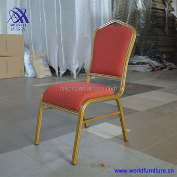 new style and cheap cushion hotel banquet chair