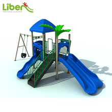 Customized colorful children commercial outdoor playground equipment, children's garden playground made in China