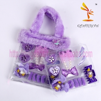 Fashion purple high quality hair pin hair accessories for girls