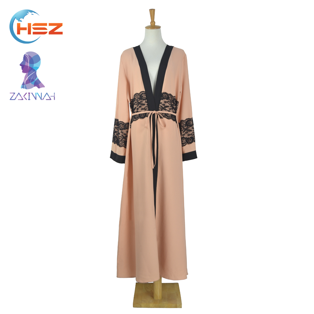 Zakiyyah E001 Cheap Abayas Modest Islamic Clothing Girl Names Muslim