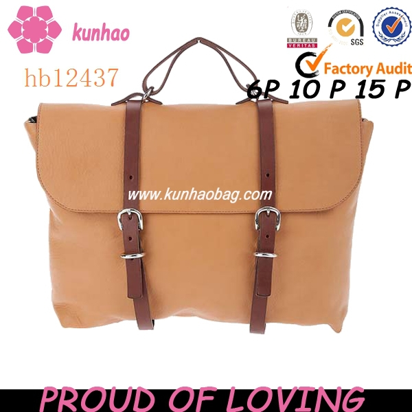 camel leather bags for men