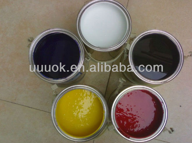 Ceramic screen printing ink