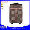 New designed PU travel luggage bag with printing