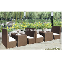 Outdoor Furniture New Style Hot Sale Patio Rattan Furniture Bar Set